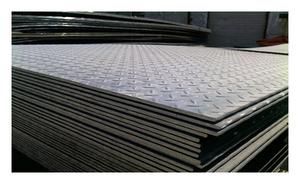 Лист рифленый 4х1250х2500 сталь 3 чечевица ГОСТ 8568-77